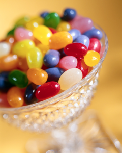 Bowl of candy